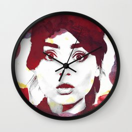The Impossible Clara Wall Clock