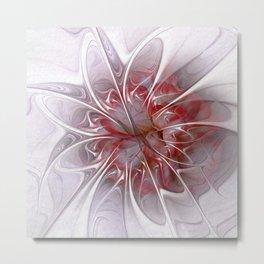 flower design -12- Metal Print