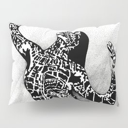 Girl In Shadow Pillow Sham