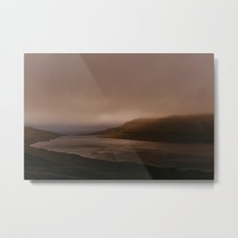 Faroese Lake Metal Print