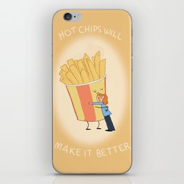 Hot Chips! iPhone Skin