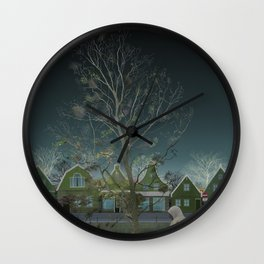 Amsterdam in winter—No.2 Wall Clock