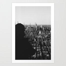 Manhattan Views Art Print