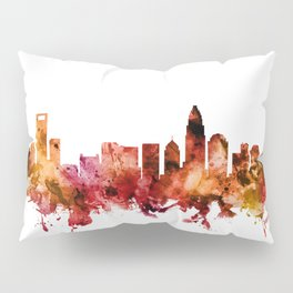 Charlotte North Carolina Skyline Pillow Sham