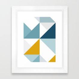 Modern Geometric 18/3 Framed Art Print