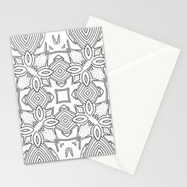 outback lines Stationery Cards