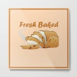 Fresh Baked Metal Print
