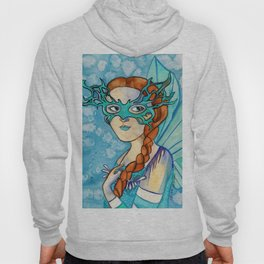 Fairy Masquerade - Turquoise Hoody