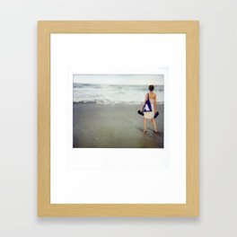 Costa Rica Polaroid #19 Framed Art Print