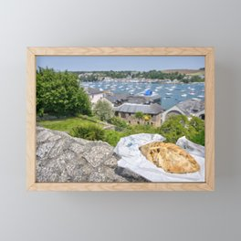 Falmouth Pasty Framed Mini Art Print