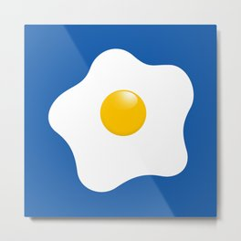 EGG tastic - the sunny side up Metal Print