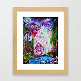 Communing with the Infinite Framed Art Print
