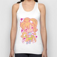 police Tank Tops featuring Mushroom police by Kat Kalindi Cameron