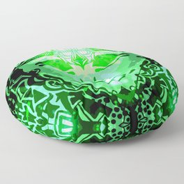 Vision Of The Holy Spirit Floor Pillow