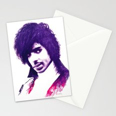 Prince In Purple Stationery Cards