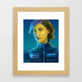 Renee Framed Art Print