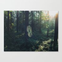 spider Canvas Prints featuring SPIDER by TOM MARGOL