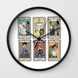 Office Tarot - Series 2 - Agile Wall Clock