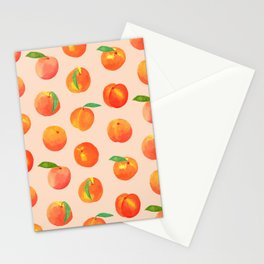 Peaches study Stationery Cards