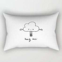 Cute cloud hug me Rectangular Pillow