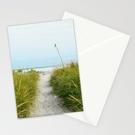 Beach Path to the Sea Stationery Cards