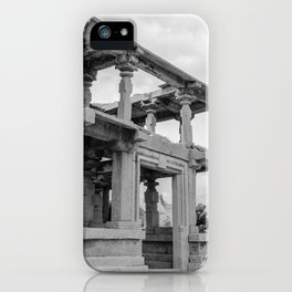 Hampi ruins iPhone Case