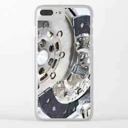 Clutch system with dual mass flywheel Clear iPhone Case
