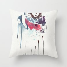 Love Is a Mix tape Throw Pillow