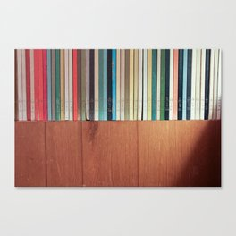 BOOKHORIZON Canvas Print
