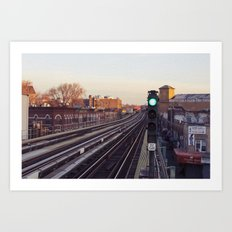 Take The 'A' Train Art Print