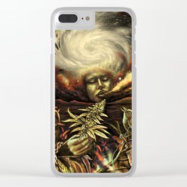 Sense of Freedom Clear iPhone Case