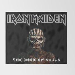 iron maiden tour2017 ty Throw Blanket