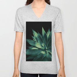 Agave Vivid Delight #2 #tropical #decor #art #society6 Unisex V-Neck