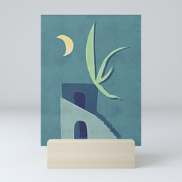 Moon House Mini Art Print