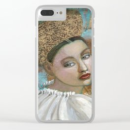 The last strains of music Clear iPhone Case
