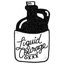 Metal Travel Mug - Liquid Courage - Matthew Taylor Wilson