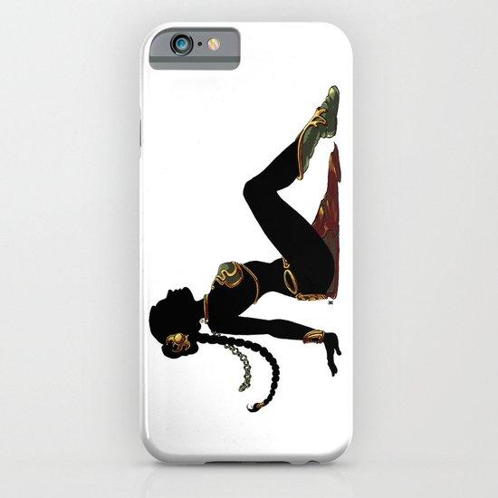 Slave Leia Mudflap iPhone & iPod Case