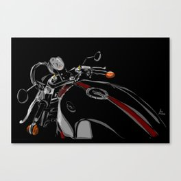 Moto Guzzi Canvas Print