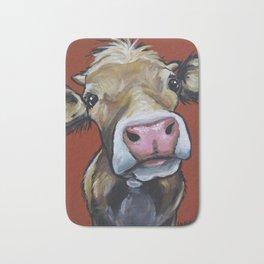 Cow art, Cute colorful cow art Bath Mat