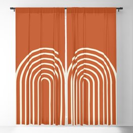 Terracota Blackout Curtain