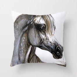 Arabian horse Throw Pillow