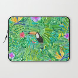 Foret tropicale Laptop Sleeve