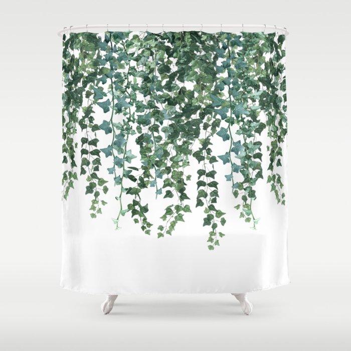 Ivy Vine Drop Shower Curtain