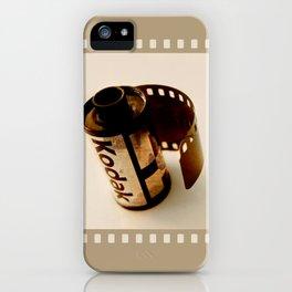 The last kodak film iPhone Case