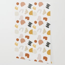 Abstract Shape Series - Autumn Color Study Wallpaper