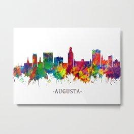 Augusta Georgia Skyline Metal Print