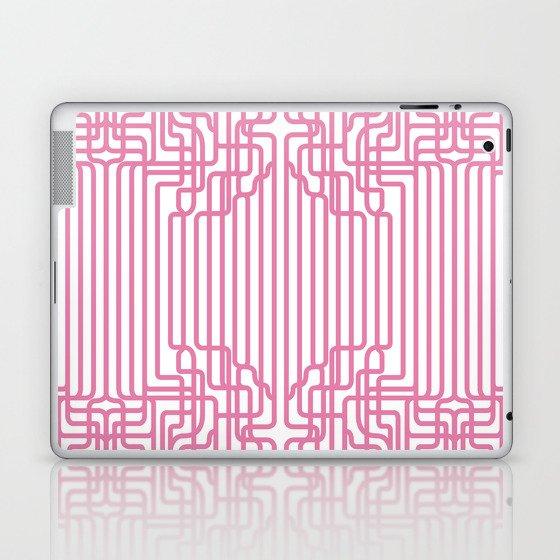 rockabilly lines Laptop & iPad Skin