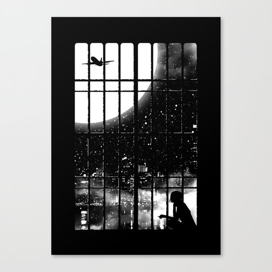 All Alone Canvas Print