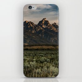 Teton Morning iPhone Skin