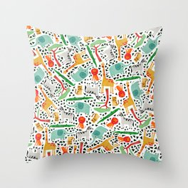 Wild animals 2 Throw Pillow
